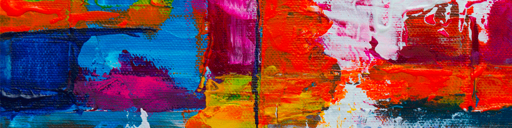banner abstract painting