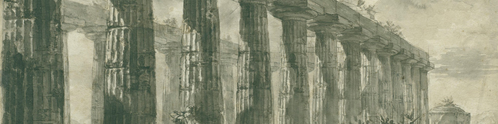 banner detail Piranesi Temple of Juno
